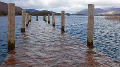 Keswick Mary Mount 02-20 (84) (Big Warby) Tags: uk greatbritain landscapes unitedkingdom lakedistrict cumbria derwentwater floods davidwarburton bigwarby jetty