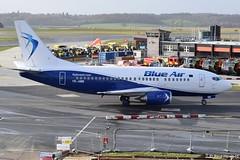 2020-02-01 LTN YR-AMB (Paul-H100) Tags: 20200201 ltn yramb boeing 737 b737 blue air