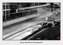 Car trails on film; time for a conspiracy theory?! :-) (Hans ter Horst Photography) Tags: 2009 england london uk years believeinfilm ishootfilm filmphotography filmisnotdead pentaxmzs hoshisato hansterhorst ilfordfp4 ilfordfp4plus ilfordfilm longexposure ilfordfp4125 film:brand=ilford film:name=ilfordfp4125 uxbridge cartrails lighttrails ishootilfordfilm