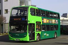 Alexander-Dennis E40D Enviro400 (DennisDartSLF) Tags: norwich bus alexanderdennis e40d enviro400 enviro 632 konectbus parkandride sn65oao