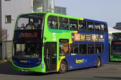 Alexander-Dennis E40D Enviro400 (DennisDartSLF) Tags: norwich bus alexanderdennis e40d enviro400 enviro 639 konectbus 5series parkandride sn65oay