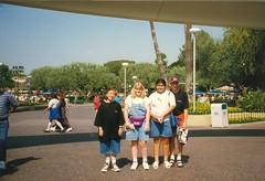 Brett Michelle Santos Randy@Disneyland96 (santos.apodaca) Tags: disneyland 1996 may may1996 california santos