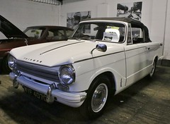 WYF 407G (Nivek.Old.Gold) Tags: 1969 triumph herald 1360 convertible 1296cc aca
