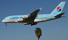 Korean Air A380-861 (HL7613) LAX Approach 3 (hsckcwong) Tags: koreanair a380861 a380800 a380 hl7613 lax klax