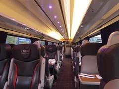 LNER 225 first class interior (19/2/20) (*ECMLexpress*) Tags: lner london north eastern railway intercity swallow 225 class 91 91119 82225 first ecml