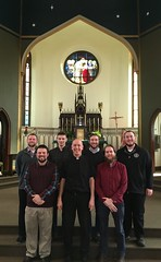 Seminarians visited Fr. Jeff Lucas, pastor of St. Agatha Parish in Meadville, PA, February 15, 2020.