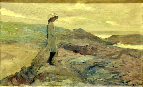 Contemplação (1911) - António Carneiro (1872-1930)