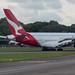Qantas Airbus A380-841; VH-OQK@SIN;28.11.2019