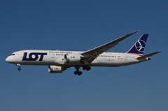LOT Airlines 787-900 Dreamliner (SP-LSA) LAX Approach 2 (hsckcwong) Tags: lotairlines 787900 7879 787 dreamliner splsa lax klax