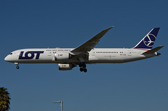 LOT Airlines 787-900 Dreamliner (SP-LSA) LAX Approach 4 (hsckcwong) Tags: lotairlines 787900 7879 787 dreamliner splsa lax klax
