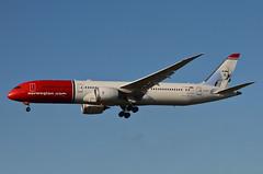 Norwegian Long Haul Ole Bull Livery 787-900 Dreamliner (LN-LNJ) LAX Approach 2 (hsckcwong) Tags: norwegianlonghaul norwegianairlines7879007879787dreamlinerlnlnjolebulllivery lax klax