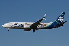 Alaska Airlines Toy Story 4 Livery 737-890 (N589AS) LAX Approach 3 (hsckcwong) Tags: alaskaairlines toystory4livery 737890 737800 737 n589as lax klax