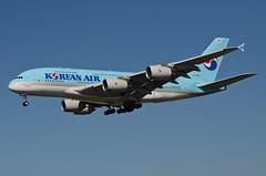 Korean Air A380-861 (HL7613) LAX Approach 2 (hsckcwong) Tags: koreanair a380861 a380800 a380 hl7613 lax klax