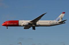 Norwegian Long Haul Ole Bull Livery 787-900 Dreamliner (LN-LNJ) LAX Approach 3 (hsckcwong) Tags: norwegianlonghaul norwegianairlines7879007879787dreamlinerlnlnjolebulllivery lax klax