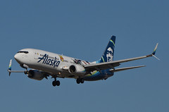 Alaska Airlines Toy Story 4 Livery 737-890 (N589AS) LAX Approach 1 (hsckcwong) Tags: alaskaairlines toystory4livery 737890 737800 737 n589as lax klax