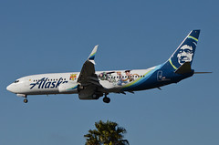 Alaska Airlines Toy Story 4 Livery 737-890 (N589AS) LAX Approach 4 (hsckcwong) Tags: alaskaairlines toystory4livery 737890 737800 737 n589as lax klax