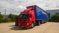 Photo of Motward Pallets Y30MPL delivering at Eaton Socon on 27th-July-2017