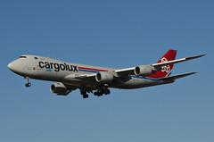 Cargolux 747-8R7(F) (LX-VCI) LAX Approach 2 (hsckcwong) Tags: cargoluxairlines cargolux 7478r7f 747800f 747800freighter lxvci lax klax