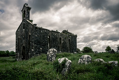 Kilkenny West Church (Rodney Harvey) Tags: abandoned church ruin westmeath ireland stone ancient moody rural decay uk cemetery headstones graveyard architecture