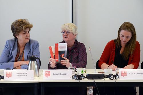 Maria Joao Rodrigues, Carina Ohlsson and Marije Laffeber