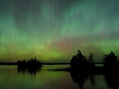 Northern Lights, north of Duluth, Minnesota (Justin-Berke) Tags: northern lights aurora auroras duluth minnesota mn astro astrophotography astrolandscape
