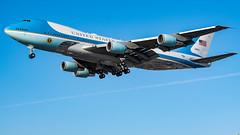 Air Force One (beltz6) Tags: vc25a 747 boeing boeing747 trump potus airplane aviation avgeek lax klax losangelesinternationalairport president chieflawenforcementofficer covfefe