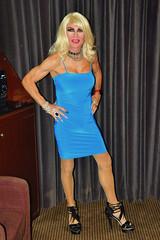 Cortney - Blonde in a sexy Blue dress (Cortney10100) Tags: tgirl cortneyanderson sherry cortney anderson nails pink thigh stilettos crossdresser crossdress transvestite transsexual trannie tranny femme highheels heels transgender tgurl tg tv m2f mtf transvista cd feminized xdresser portrait nylons blonde black platinum blue