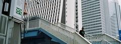 (lemonhats) Tags: fujihdp fujinon2838 lomocolor100 classiccamera vintagecamera manualfocusfixedprimelens autoexposure 38mmf28fixedprimelens iso100 35mmcolorprintfilm traditionalphotography analoguephotography filmphotography filmisnotdead filmisalive shootfilm believeinfilm filmcommunity fpper walking shinjuku tokyoto japan urban panoramic