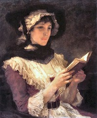 boughton-george-henry---woman-reading-1-a-pause-to-consider_35684444404_o (Sabri KARADOĞAN) Tags: george henry boughton