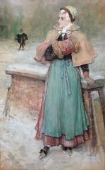 boughton-george-henry---woman-in-the-snow_35684444534_o (Sabri KARADOĞAN) Tags: george henry boughton