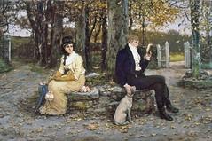 boughton-george-henry---the-waning-honeymoon_15936620499_o (Sabri KARADOĞAN) Tags: george henry boughton