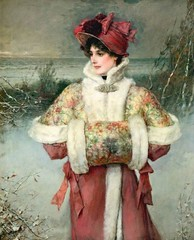 boughton-george-henry---the-lady-of-the-snows_16121960022_o (Sabri KARADOĞAN) Tags: george henry boughton