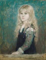 boughton-george-henry---portrait-of-esme-robb_15500366734_o (Sabri KARADOĞAN) Tags: george henry boughton