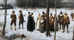 boughton-george-henry---pilgrims-going-to-church_35684444734_o (Sabri KARADOĞAN) Tags: george henry boughton