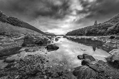 The Haast River, South Island New Zealand (GLN IMAGES) Tags: blackandwhite bnw monochrome sepia haast river moody nikon d850 focusstack focus