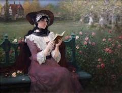 boughton-george-henry---woman-reading-2_16121959182_o (Sabri KARADOĞAN) Tags: george henry boughton