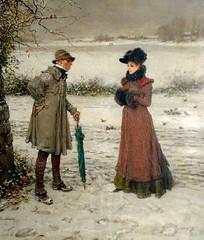 boughton-george-henry---winter_15936941427_o (Sabri KARADOĞAN) Tags: george henry boughton