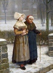 boughton-george-henry---returning-from-mass-brittany_16096893886_o (Sabri KARADOĞAN) Tags: george henry boughton