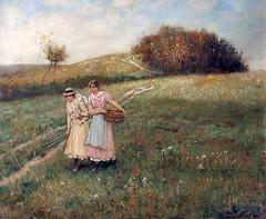 boughton-george-henry---nut-brown-maids_15502989483_o (Sabri KARADOĞAN) Tags: george henry boughton