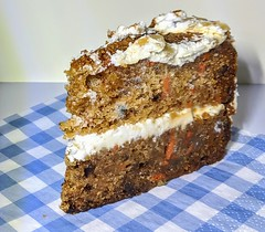 Carrot and Walnut Cake (Tony Worrall) Tags: photos photograff things uk england food foodie grub eat eaten taste tasty cook cooked iatethis foodporn foodpictures picturesoffood dish dishes menu plate plated made ingrediants nice flavour foodophile x yummy make tasted meal nutritional freshtaste foodstuff cuisine nourishment nutriments provisions ration refreshment store sustenance fare foodstuffs meals snacks bites chow cookery diet eatable fodder ilobsterit instagram forsale sell buy cost stock cake bake sweet carrot veg nuts
