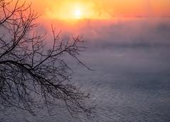 Winter Sunrise, Duluth 2/20/20 #lakesuperior (Sharon Mollerus) Tags: duluth lakesuperior sunrise winter fitgers minnesota mn a20