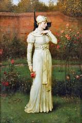 boughton-george-henry---the-rose-garden_15936620619_o (Sabri KARADOĞAN) Tags: george henry boughton