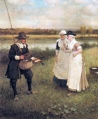 boughton-george-henry---isaac-walton-and-the-milkmaids_35684427024_o (Sabri KARADOĞAN) Tags: george henry boughton