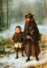 boughton-george-henry---a-winter-mornings-walk_15935402280_o (Sabri KARADOĞAN) Tags: george henry boughton