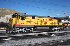 General Electric's C30-7 Series (jamesbelmont) Tags: locomotive railway railroad train utah saltlakecity northyard c307 ge generalelectric unionpacific