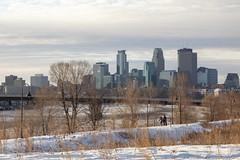 Minneapolis (Lucie Maru) Tags: minnesota minneapolis cold winter snow city river skyline mississippi