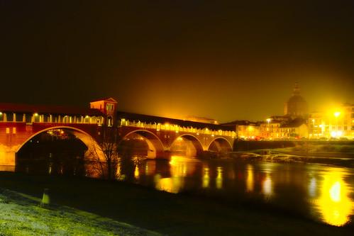 Ponte coperto notte Orton