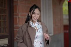 張雅淳 (玩家) Tags: 2020 台灣 台北 花博公園 人像 外拍 旗袍 正妹 模特兒 張雅淳 戶外 定焦 無後製 無修圖 taiwan taipei portrait glamour model girl female bella outdoor d610 85mm prime