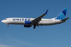 United / B738 / N37290 / KLAX 25L (_Wouter Cooremans) Tags: lax losangeles losangelesinternationalairport spotting spotter avgeek aviation united b738 n37290 klax 25l