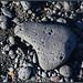 Galet de pierre noire (Lanzarote-Canaries)